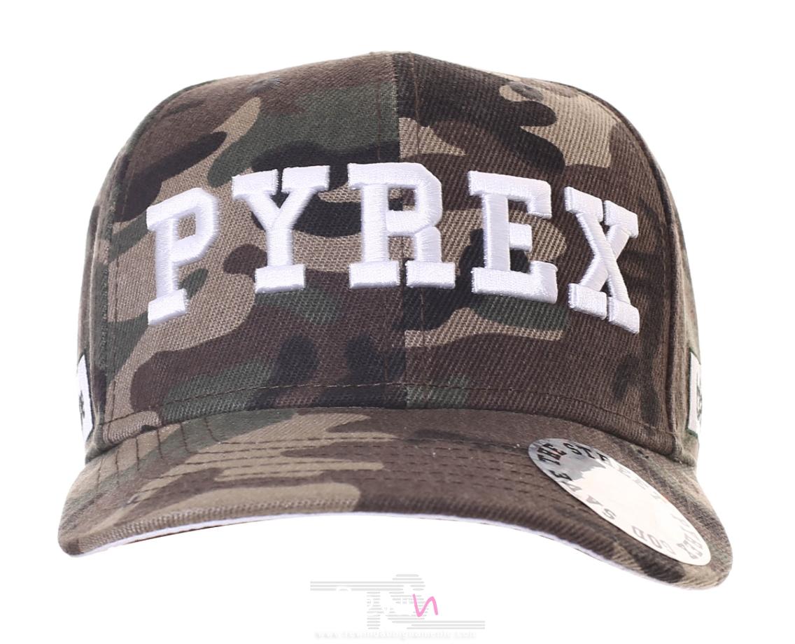 Cappellino Pyrex Unisex con logo ricamato frontale - Rewind vende online 35fed9e42f3f