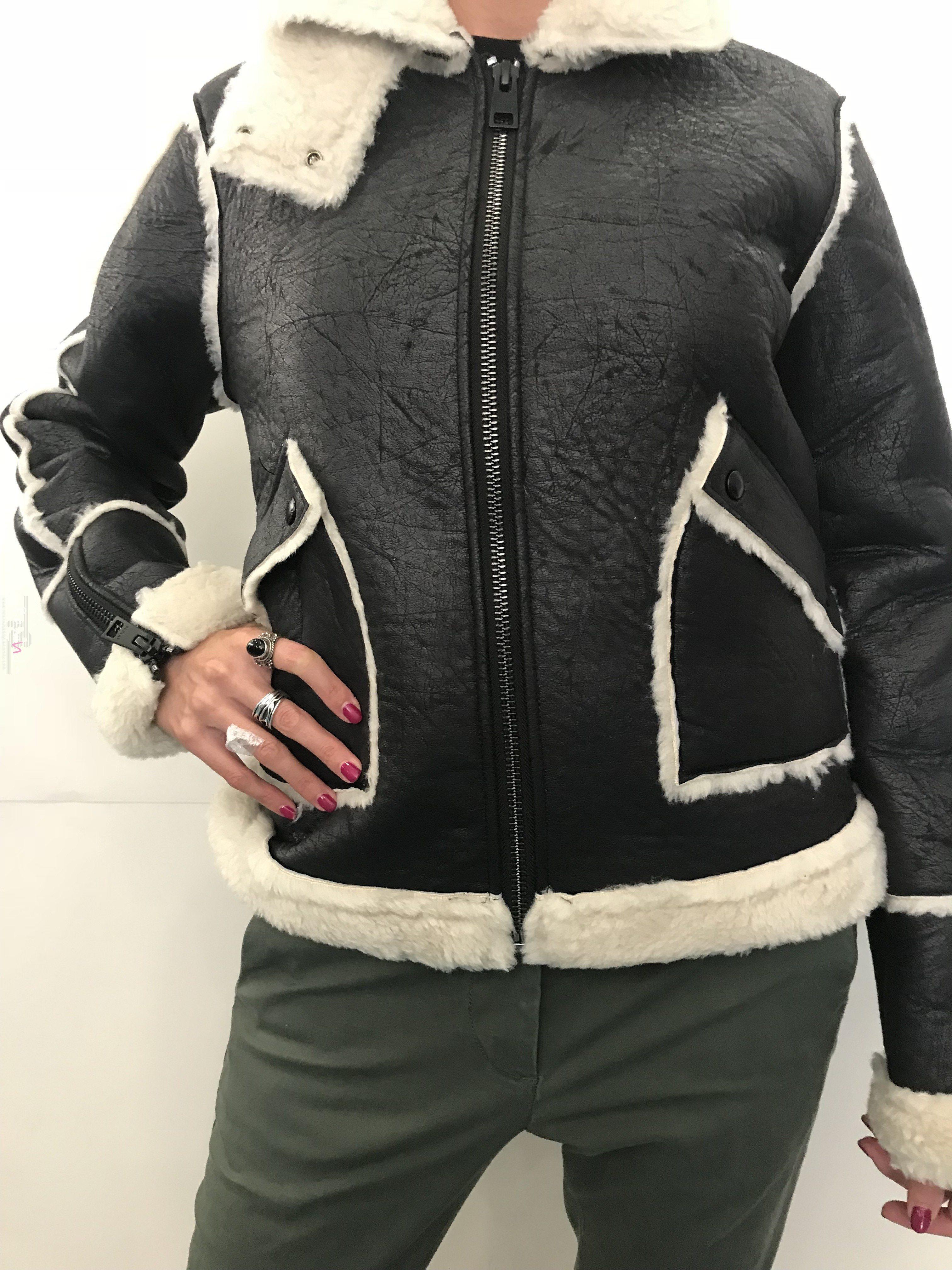 the best attitude e441e 2a66b Eco Montone Donna Replay - vende online negozio Rewind