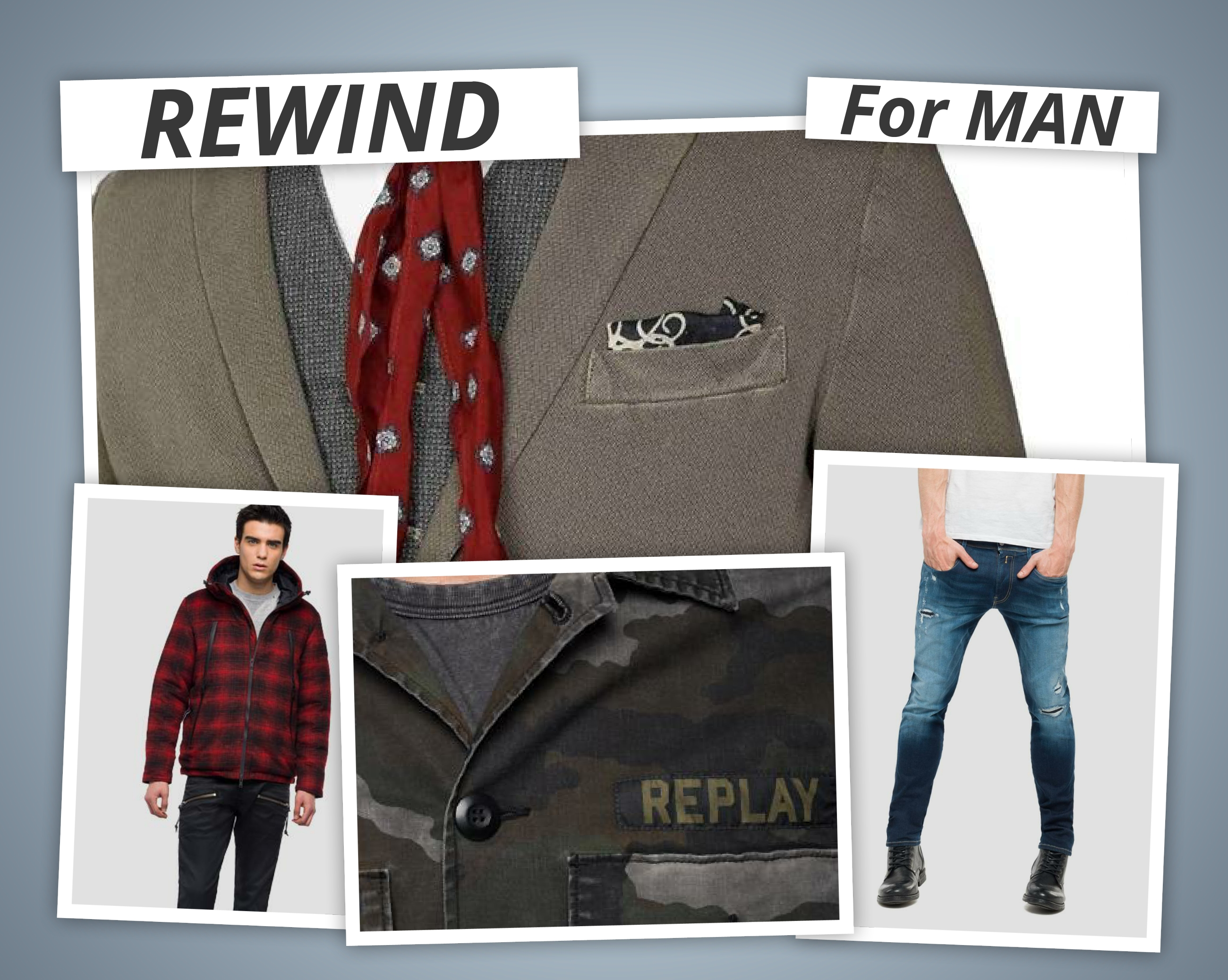 I NOSTRI OUTFIT – FOR MAN