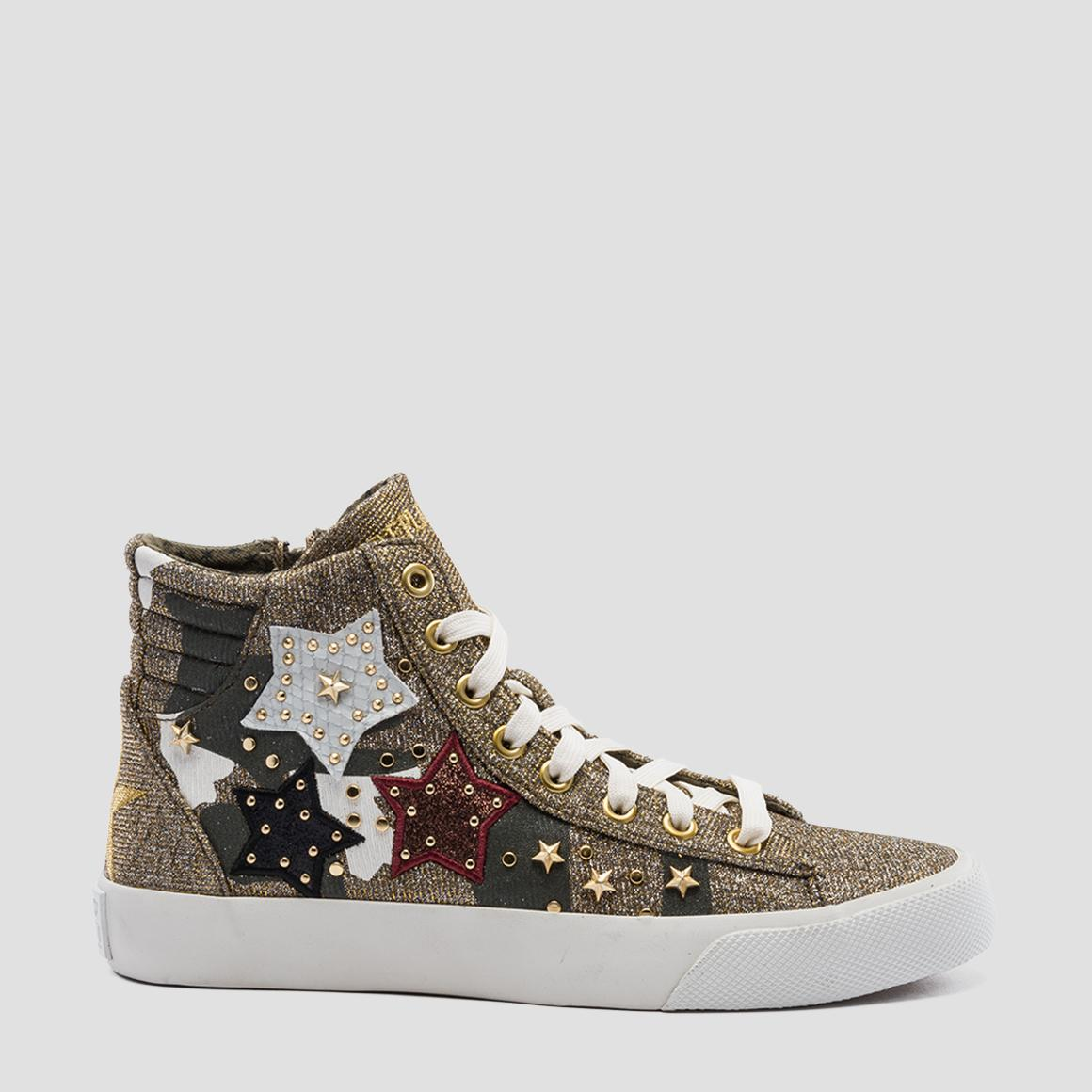 newest 3890a aedab Sneakers donna oro Replay - vende online Rewind